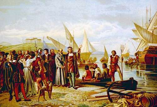 Christopher Columbus first Voyage