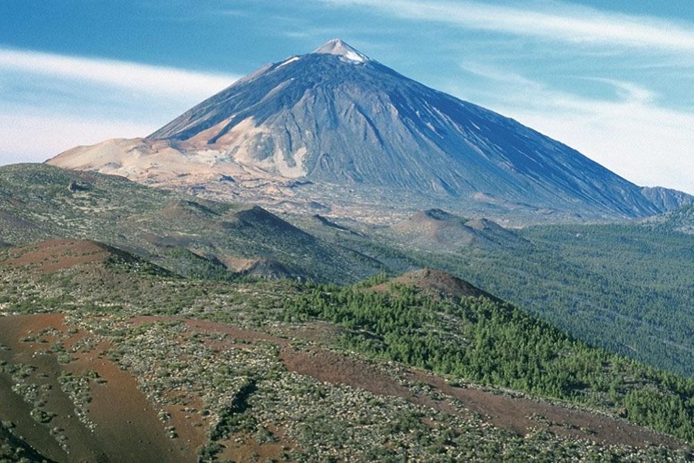 Teide in Spain is the tallest mountain in Spain