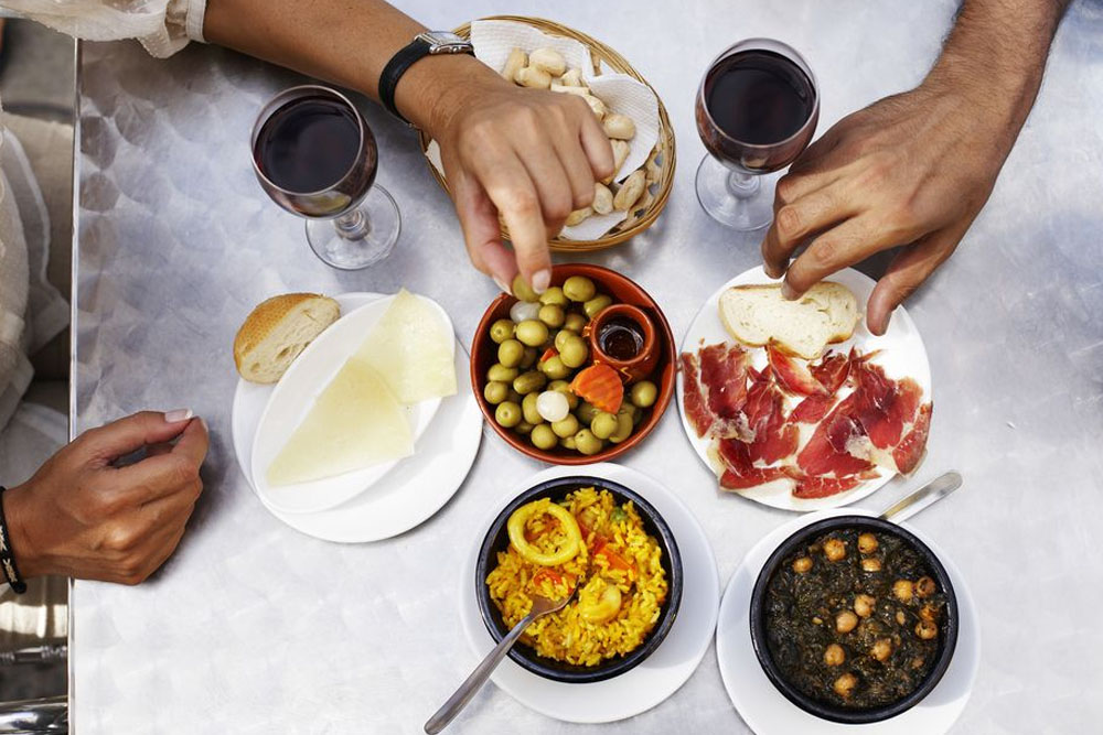 Tapas is one of the most popular dishes in Spain