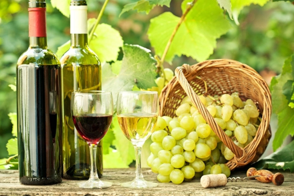 Spain is the third largest producer of wine in the world.
